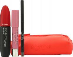 Revlon Love Series Essentials Set de Regalo 1 x All-in-One Rímel + 1 x Balm Stain + 1 x ColorStay Eyeliner + Bolsa de Cosméticos