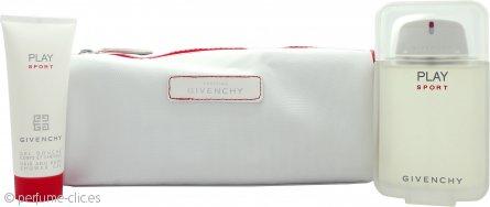 Givenchy Play Sport Set de Regalo 100ml EDT + 75ml Gel Pelo y Cuerpo + Bolsa Baño