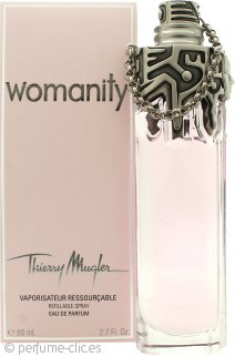 Thierry Mugler Womanity Eau de Parfum 80ml Vaporizador Rellenable