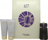 Thierry Mugler Alien Set de Regalo 60ml Eau de Parfum + 100ml Loción Corporal + 100ml Gel de Ducha