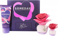 Justin Bieber Someday Set de Regalo 50ml EDP + 100ml Loción Corporal + 7.4ml Mini