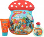 The Smurfs Brainy Set de Regalo 50ml EDT + 75ml Baño de Burbujas