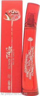 Kenzo Flower Tag Eau de Toilette 50ml Vaporizador