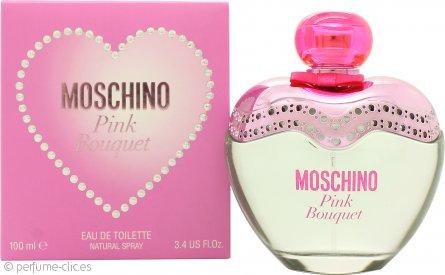 Moschino Pink Bouquet Eau de Toilette 100ml Vaporizador