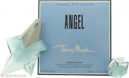 Thierry Mugler Angel Set de Regalo 25ml EDP + 5ml Mini EDP