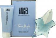 Thierry Mugler Angel Set de Regalo 50ml EDP Vaporizador + 100ml Loción Corporal Perfumada