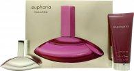 Calvin Klein Euphoria Set de Regalo 50ml EDP + 200ml Loción Piel Sensual