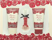 Christina Aguilera Red Sin Set de Regalo 15ml EDP + 50ml Loción Corporal + 50ml Gel de Ducha