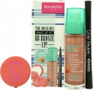 Bourjois BB Bronze Up! Set de Regalo 30ml BB Bronzing Cream + 2.5g Cream Blush - 02 Glow + 0.8ml Liner Feutree - Black