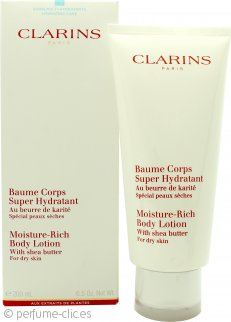 Clarins Moisture Rich Loción Corporal with Shea Butter 200ml