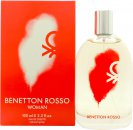 Benetton Rosso Woman Eau de Toilette 100ml Vaporizador