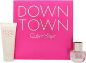 Calvin Klein Downtown Set de Regalo 30ml EDP + 100ml Gel de Ducha