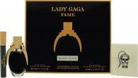 Lady Gaga Fame Set de Regalo 50ml EDP + 10ml Bola Perfumante + Tattoo