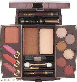 SUNkissed Cosmetics Maquillaje Compacto  2 Distintos Elementos