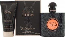 Yves Saint Laurent Black Opium Set de Regalo 50ml EDP + 50ml Loción Corporal