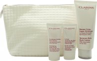 Clarins My Winter Essentials Set de Regalo 200ml Loción Corporal + 30 Hidratante Corporal + 30ml Crema de Manos + Estuche de Viaje