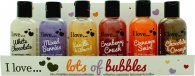 I Love... Set de Regalo 6 x 100ml Baño Burbujas