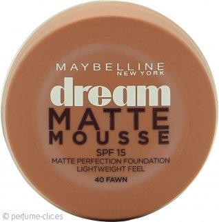 Maybelline Dream Matte Base de Maquillaje Mousse 18ml - 040 Fawn