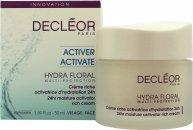 Decleor Hydra Floral 24hr Crema Hidratante Rica 50ml