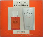 David Beckham Instinct Sport Set de Regalo 30ml EDT + 200ml Gel de ducha