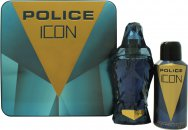 Police Icon Set de Regalo 125ml EDP + 150ml Desodorante en Spray