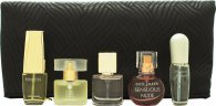 Estee Lauder Mini Set de Regalo 4ml Pleasures + 4ml Moderne Muse + 4.7ml Beautiful + 4ml Sensuous Nude + 4ml Pure White Linen + Neceser