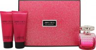 Jimmy Choo Blossom Set de Regalo 100ml EDP + 100ml Loción Corporal + 100ml ShoGel de Ducha
