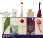 Kenzo Miniatures for Women Set de Regalo 5ml L'eau Par EDT Splash + 4ml Amour EDP Splash + 3.5ml Parfum d'Ete EDP Splash + 4ml Flower EDP Splash + 5ml Jungle EDP Splash