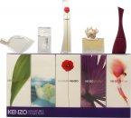 Kenzo Miniatures for Women Set de Regalo 5ml L'eau Par EDT Splash + 4ml Amour EDP Splash + 3.5ml Parfum d'Ete EDP Splash + 4ml Flower EDP Splash + 5ml Jungle EDP Splash