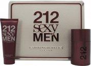 Carolina Herrera 212 Sexy Men Set de Regalo 50ml EDT + 75ml Bálsamo Aftershave