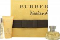 Burberry Weekend Set de Regalo 50ml EDP + 50ml Loción Corporal + 7.5ml EDP