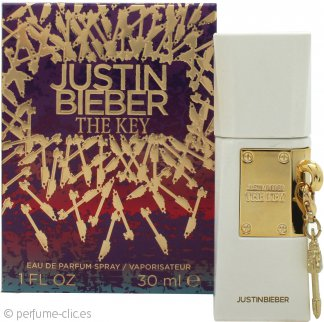 Justin Bieber The Key Eau de Parfum 30ml Vaporizador