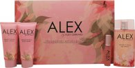 Alex Gerrard Alex Set de Regalo 100ml EDT + 20ml EDT + 100ml Loción Corporal + 100ml Gel de Ducha