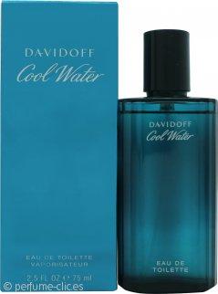 Davidoff Cool Water Eau De Toilette 75ml Vaporizador