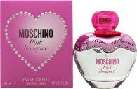 Moschino Pink Bouquet Eau de Toilette 50ml Vaporizador