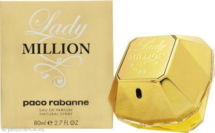 Paco Rabanne Lady Million Eau de Parfum 80ml Vaporizador