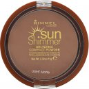 Rimmel Sun Shimmer Polvo Compacto Mate Ligero - 11g
